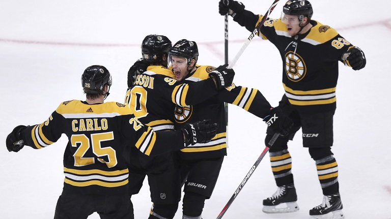 Bruins beat Maple Leafs in Game 7