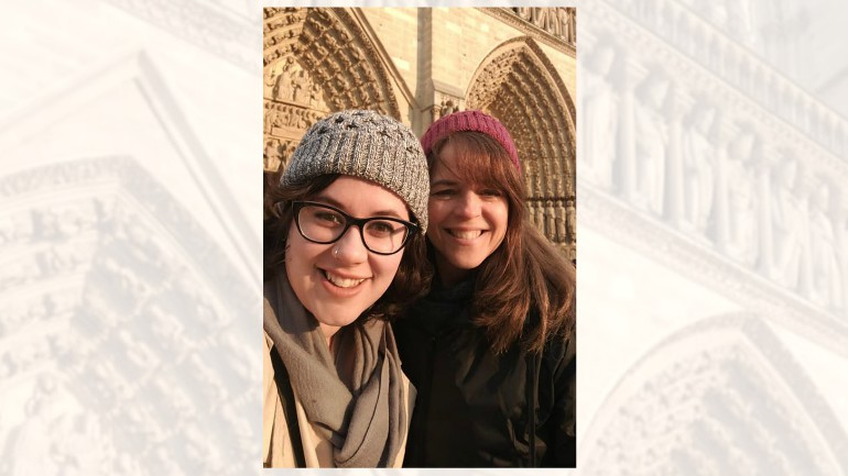RI woman in Paris: Notre Dame 'turned into a massive oven'
