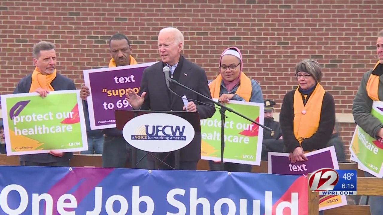 Biden calls for change as Stop & Shop strike enters second week