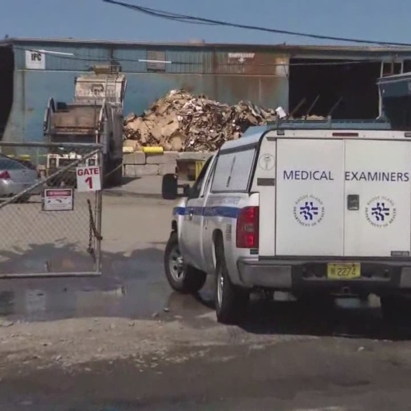 Body found at Johnston recycling center