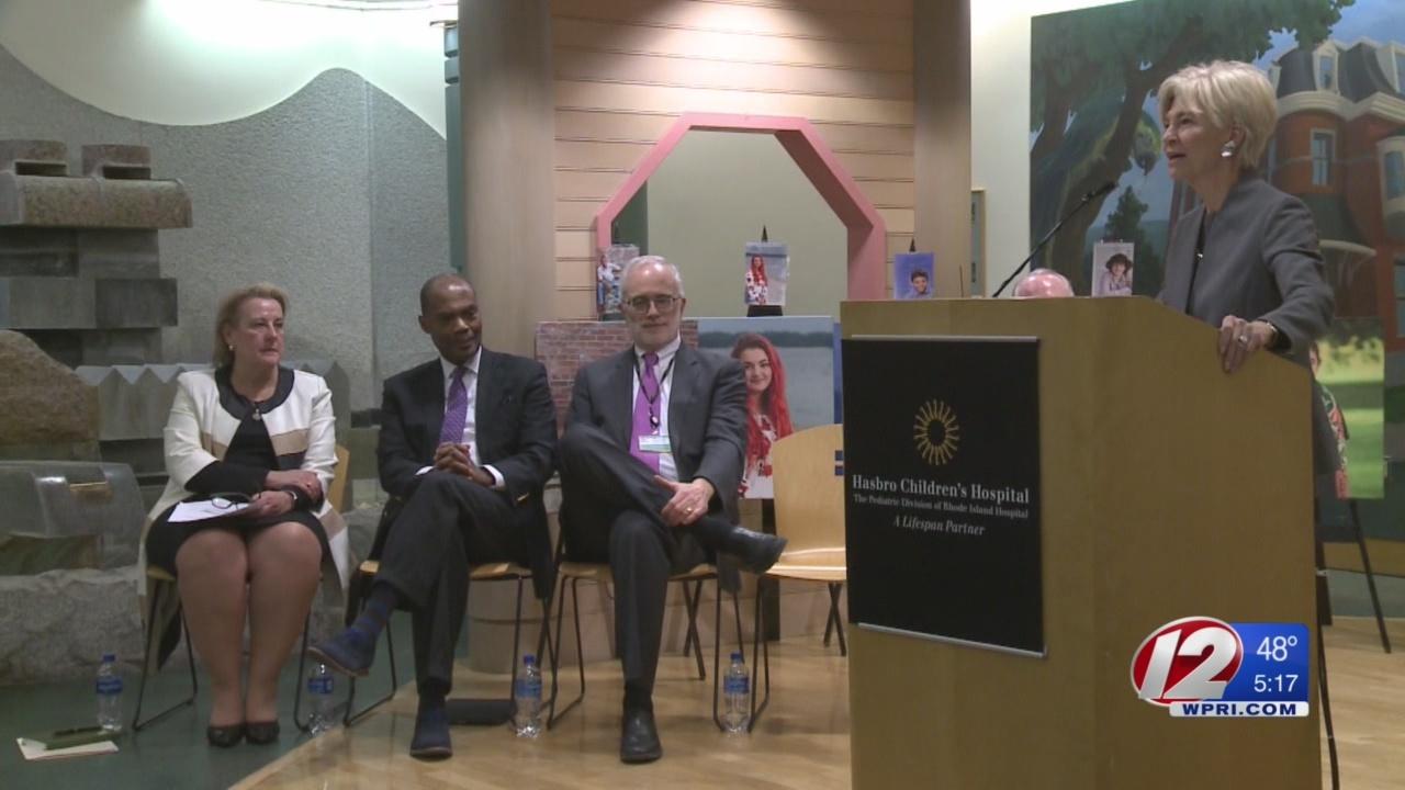 Boston, Hasbro Children's Hospitals sign official partnership