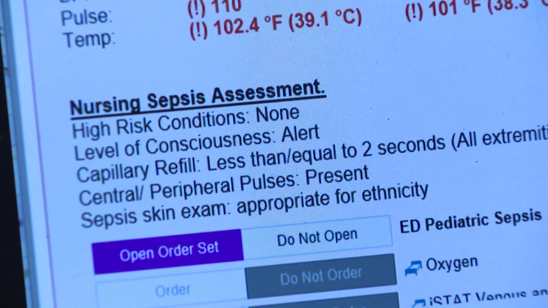 Early warning signs of sepsis and who is most at risk