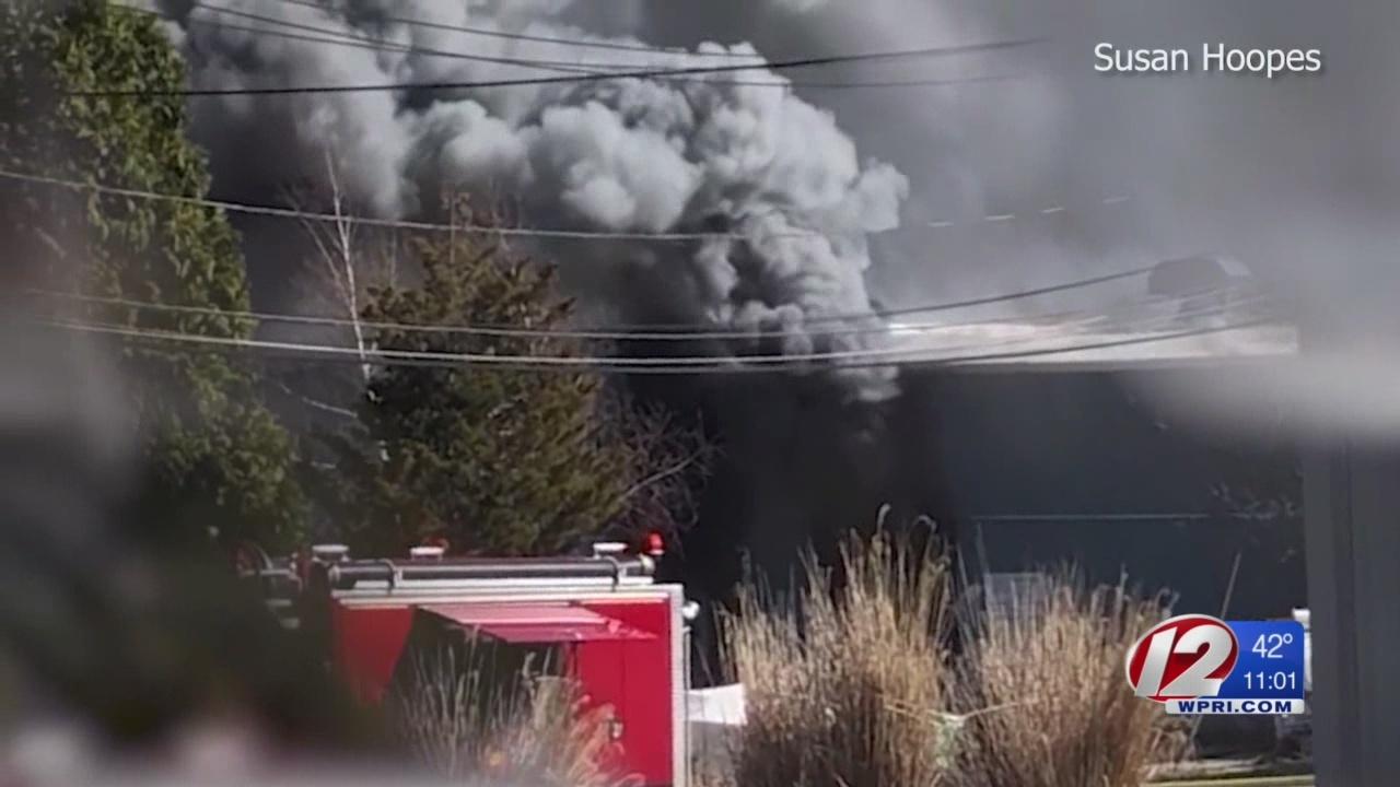 Fire at Narragansett industrial building under investigation