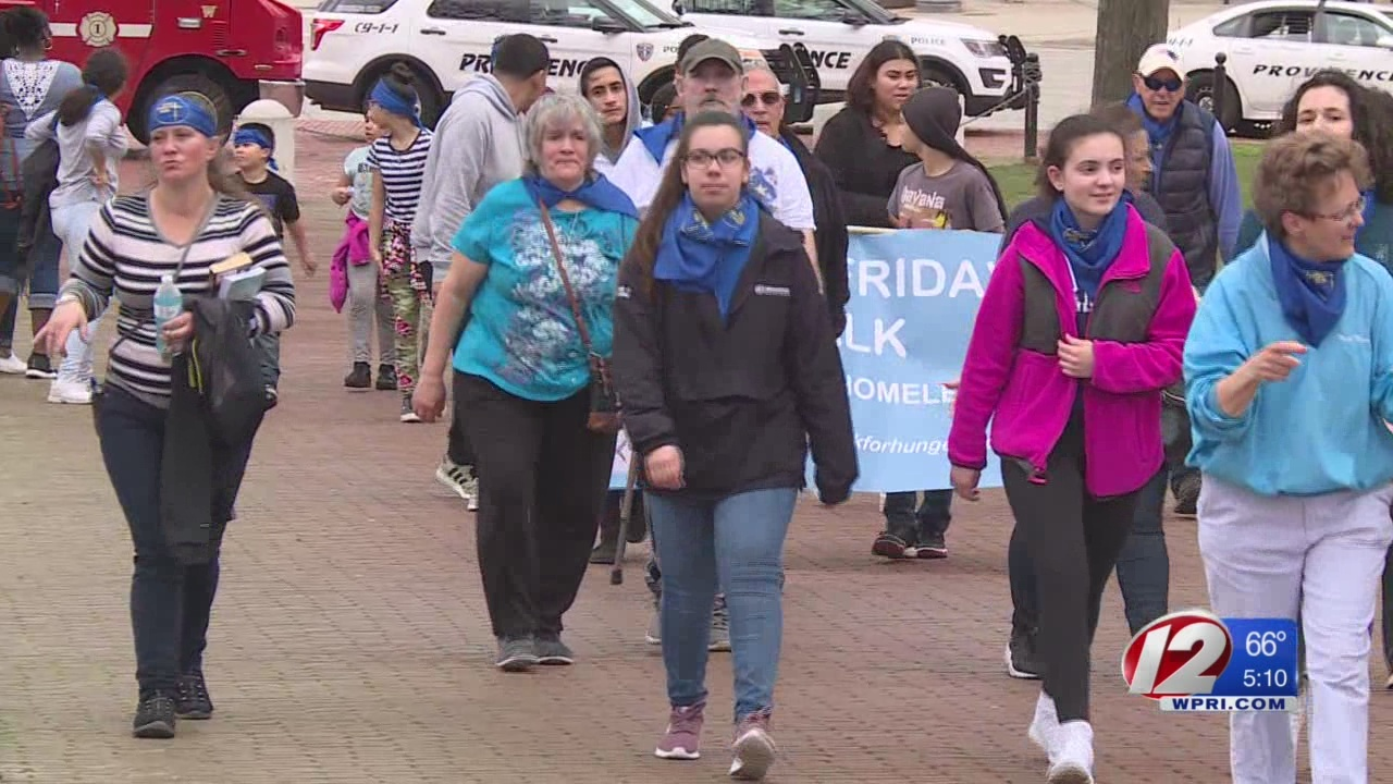 Hundreds gather at State House for 41st Good Friday Walk to end hunger