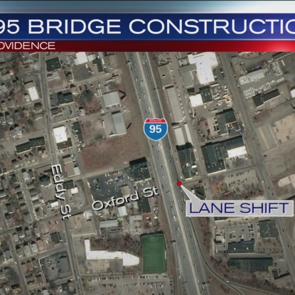 I-95 North Lane Shift Scheduled
