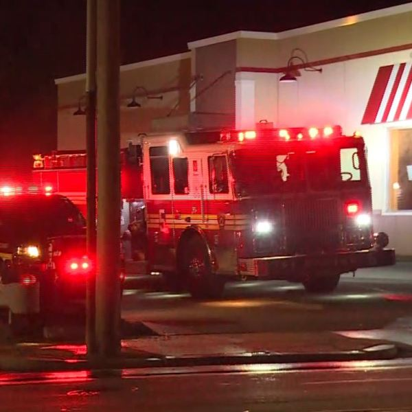 East Providence firefighters respond to fire at KFC