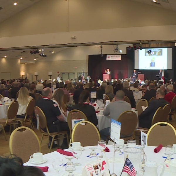 Local heroes honored at Red Cross breakfast