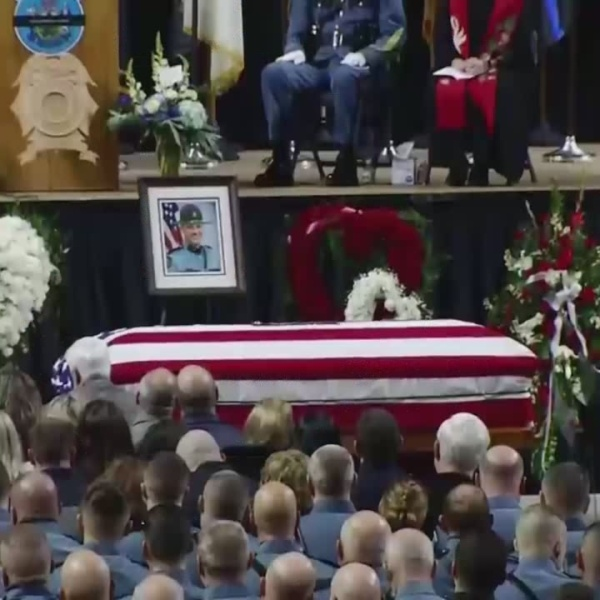 Maine trooper killed remembered for putting others first