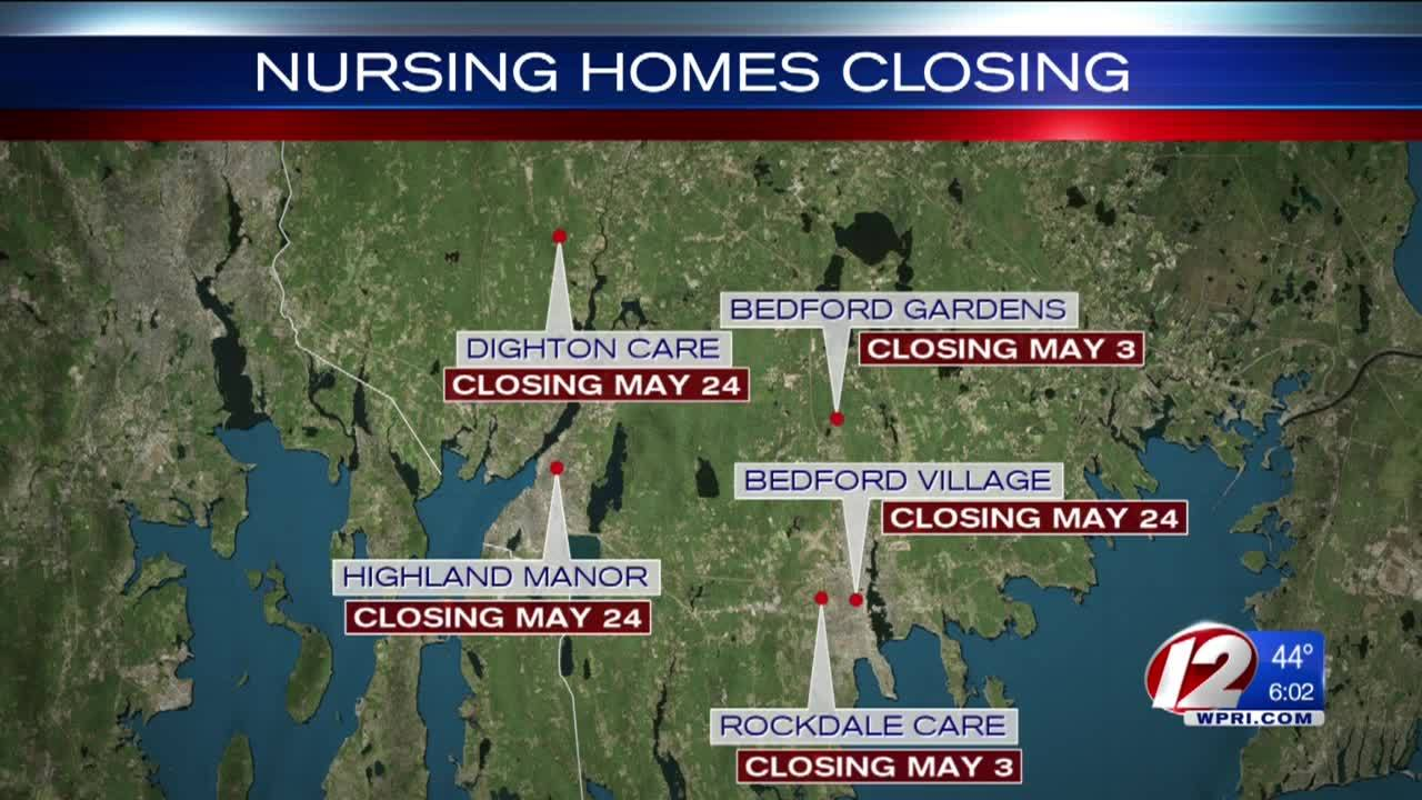 Nursing homes facing imminent closure placed into temporary receivership