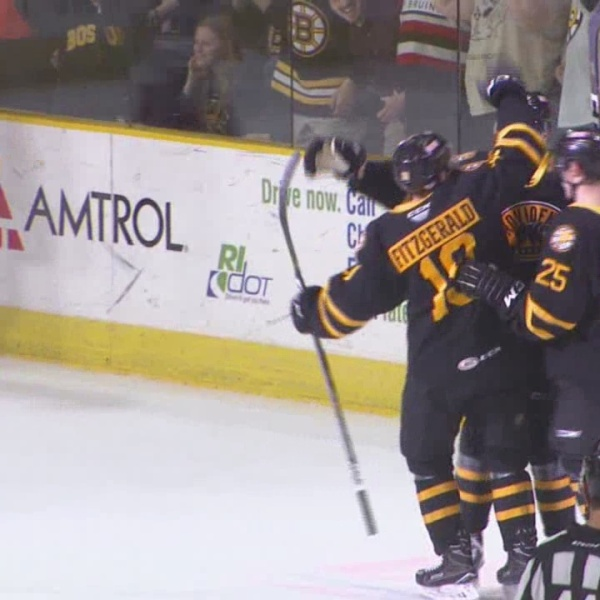 Providence Bruins even series with game two win over Checkers
