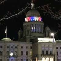 RI_State_House_dome_lit_up_to_honor_Notr_1_20190417021924