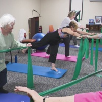 The blind leading the blind to feel yoga's benefits