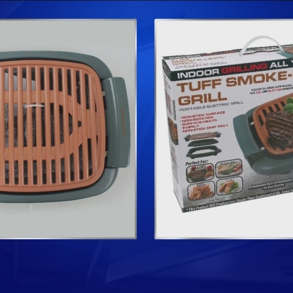 Tuff Smoke-Less Grills recalled following reports of overheating