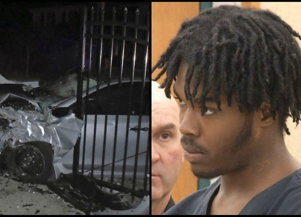 Video Now: Suspect in crash at Taylor Swift's gate arraigned