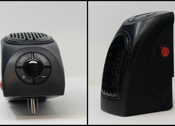 Portable plug-in heaters recalled due to fire, burn risk
