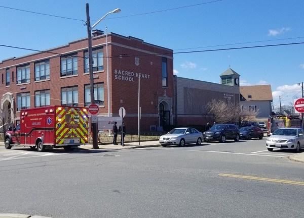 Video Now: Emergency Responders at Sacred Heart School