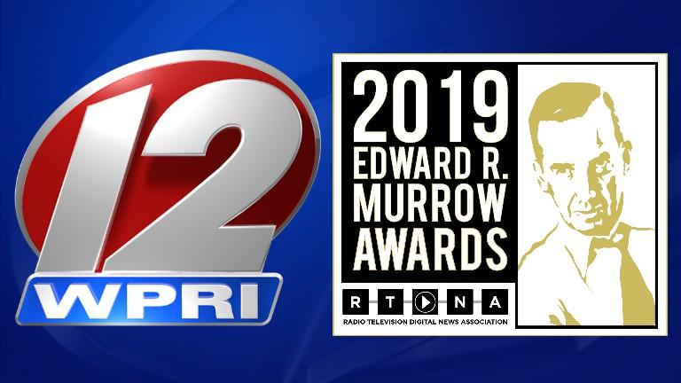 WPRI 12 2019 regional Murrow Award