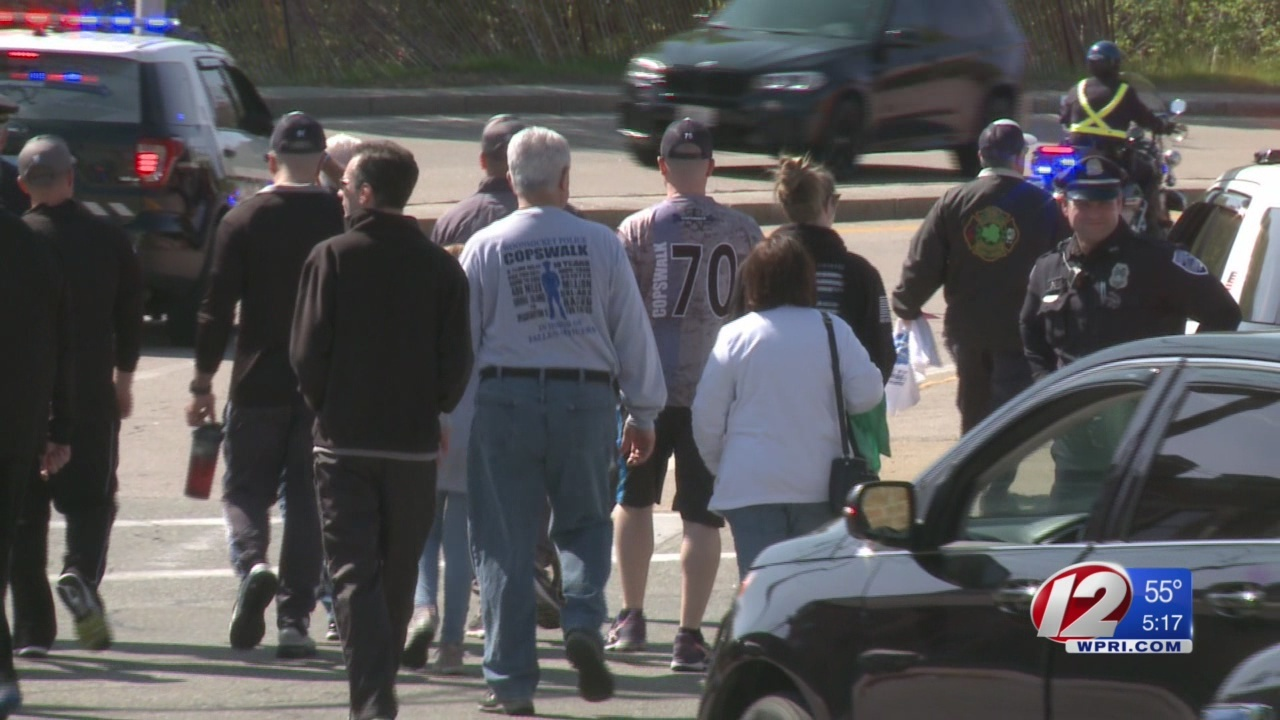 400-mile Woonsocket-to-DC walk honors fallen officers