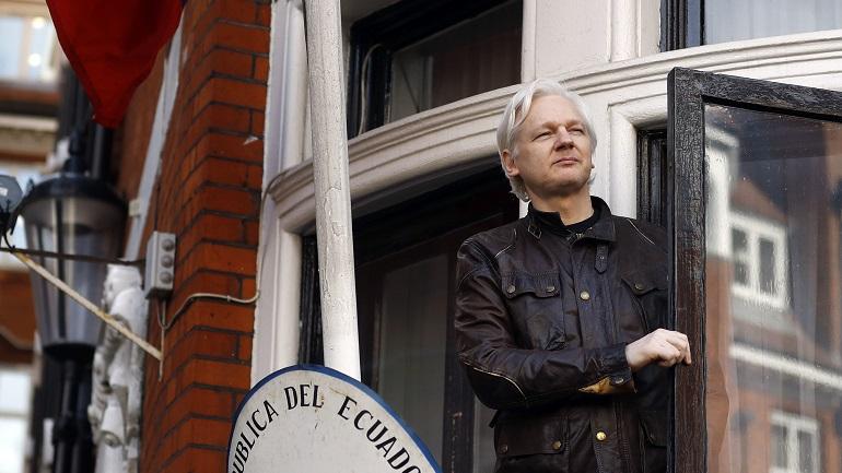 Britain WikiLeaks Assange_1556708938000