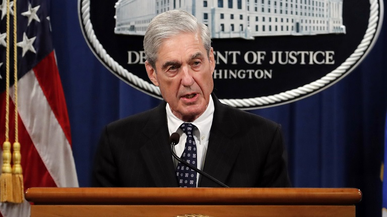 Robert Mueller comments on Russia probe