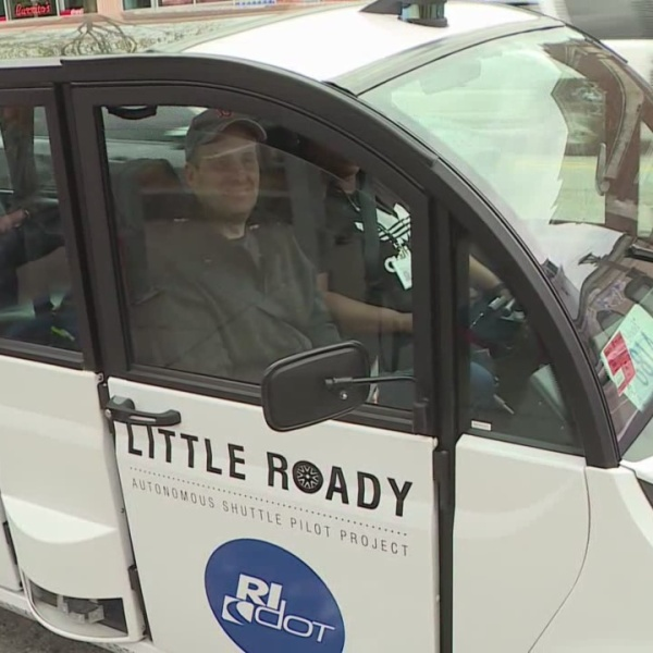 Autonomous vehicle hits the road in Providence