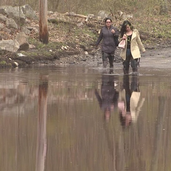Belfield Drive residents remain frustrated as flooding returns