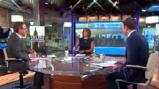 CBS News Announces Anchor Changes