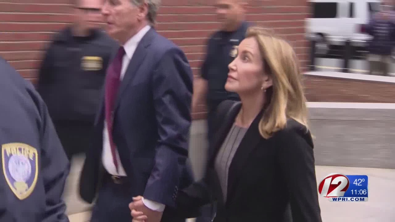 Felicity Huffman pleads guilty in college admissions scam
