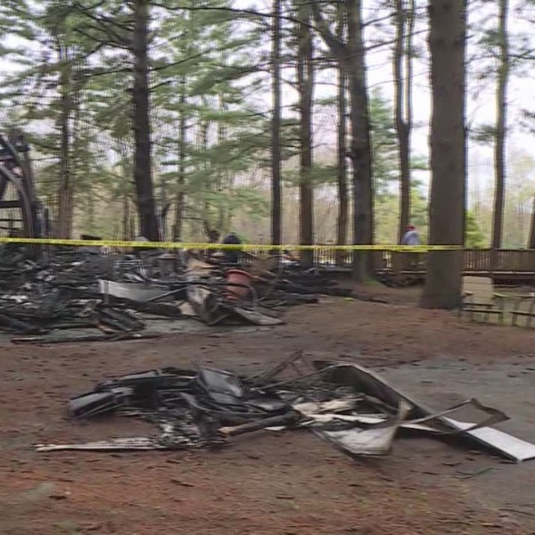 Fire destroys Glocester campground recreation hall
