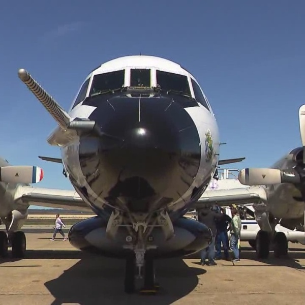 Hurricane Hunter planes in Quonset