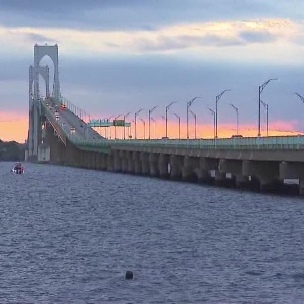 Newport Pell Bridge construction begins