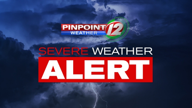 Pinpoint Weather 12 Weather Alert