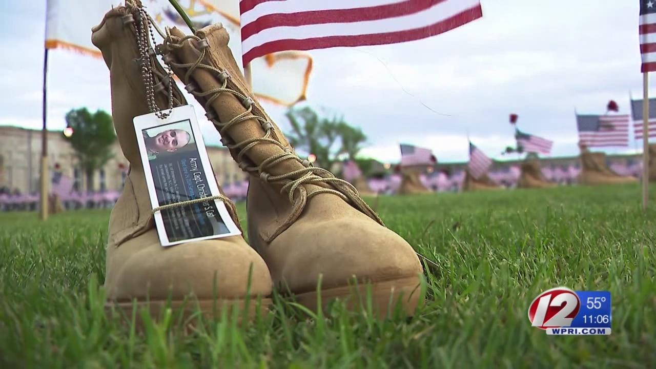 RI Gold Star families remember fallen heroes at local memorial