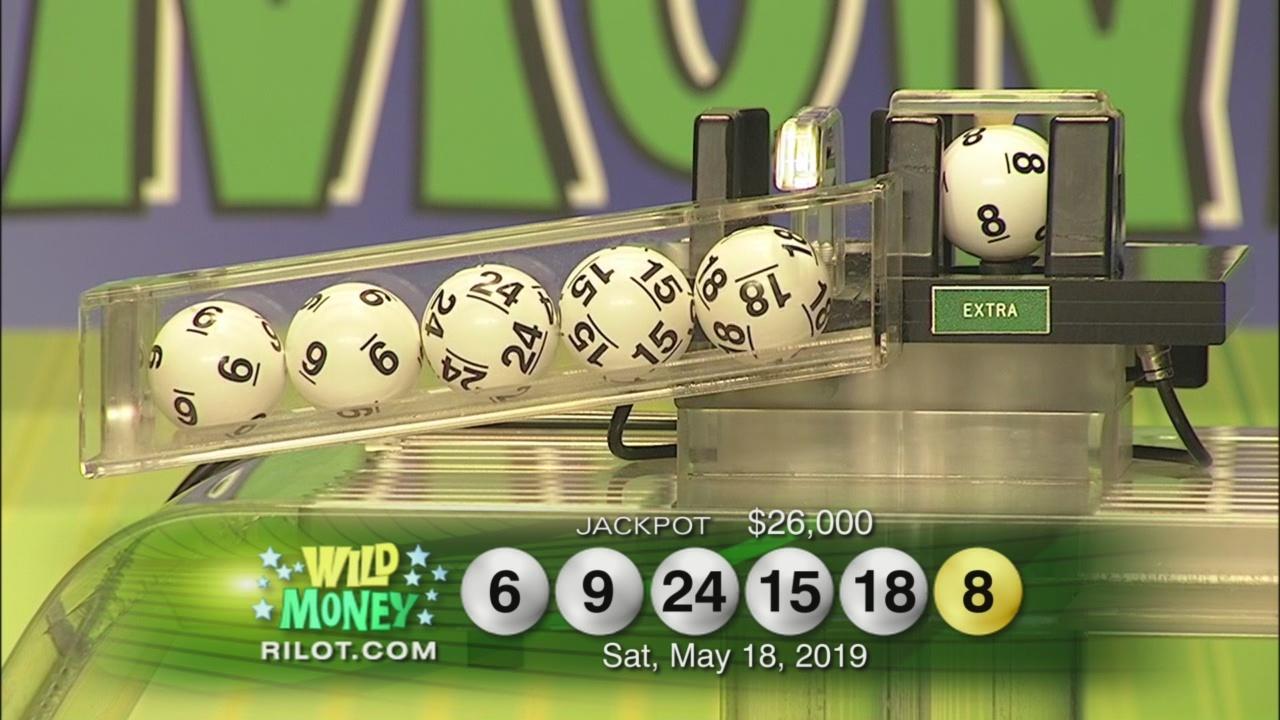 RI Lottery Wild Numbers Drawing: Saturday 5/18