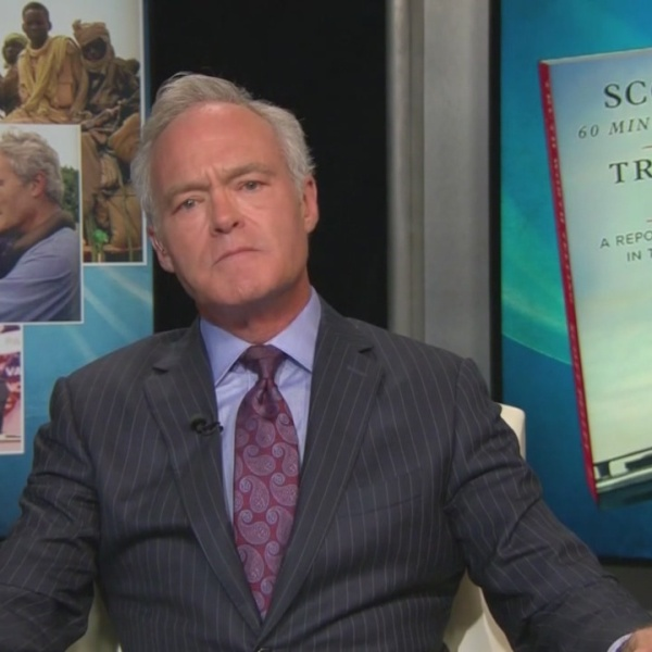 Scott Pelley shares experiences reporting from front lines in new memoir