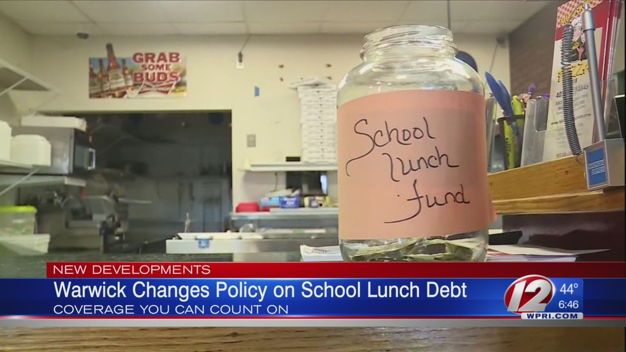 Warwick schools working on way to accept donations for lunch debt