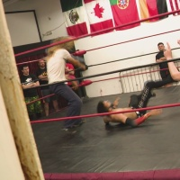 Wrestling a problem while also helping homeless veterans