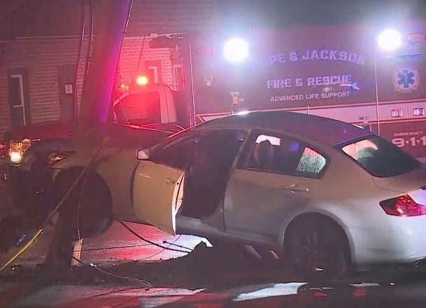 Firefighter injured at Scituate crash scene
