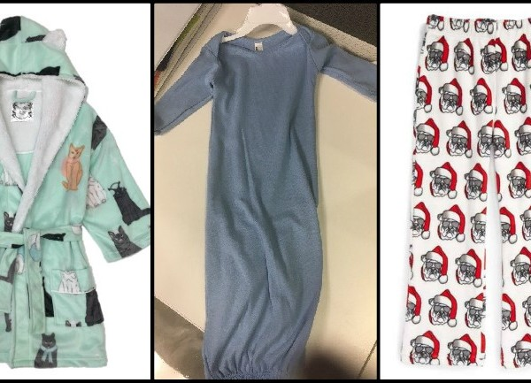 Recalled children's sleepwear fails to meet flammability standards