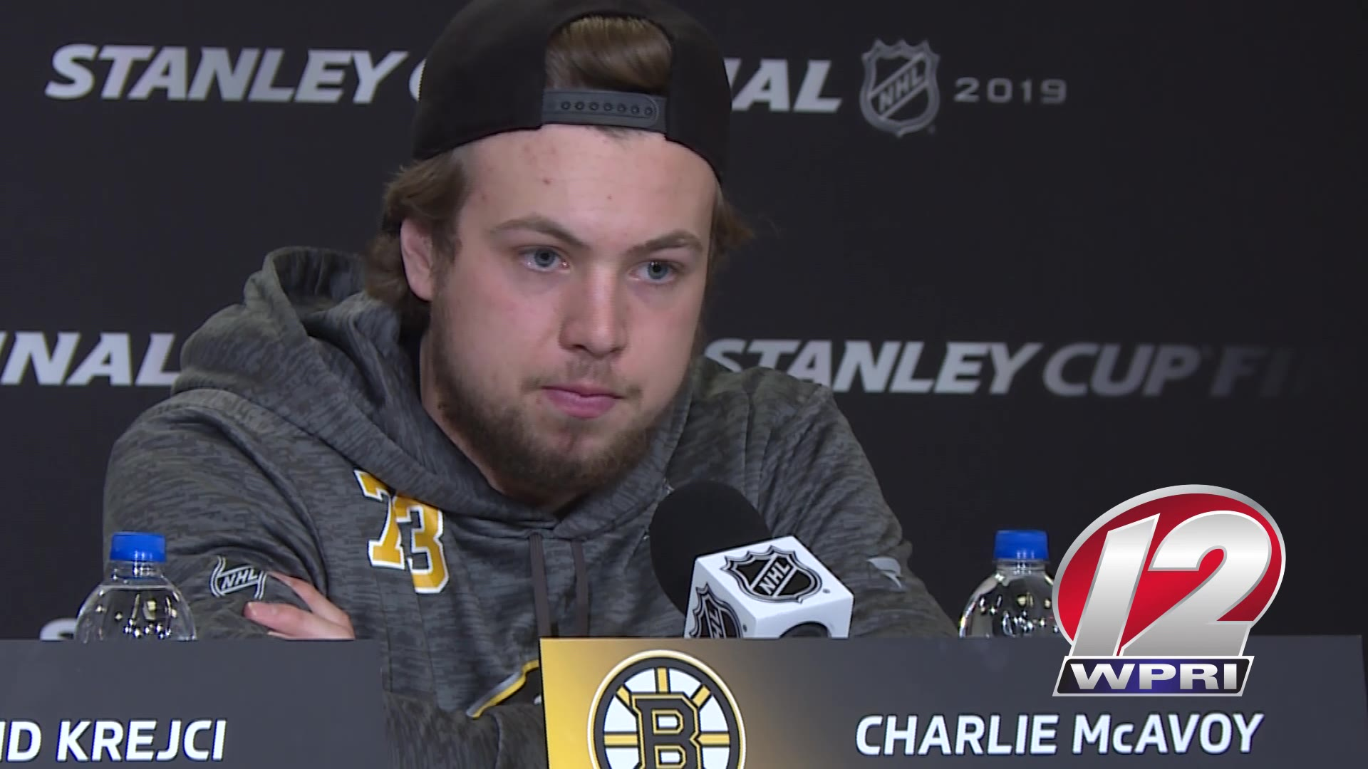 Video Now: Bruins discuss secret to success on the road in postseason