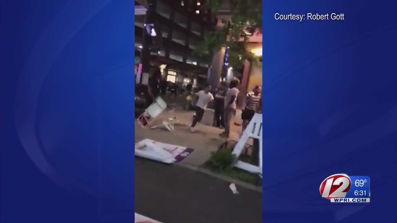 Cell phone video captures moment shots were fired at PVDFest