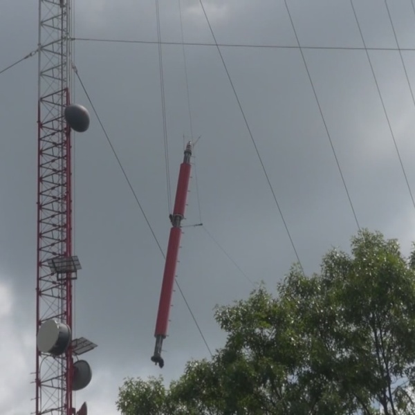 New broadcast tower installed in Rehoboth at WPRI 12 transmitter