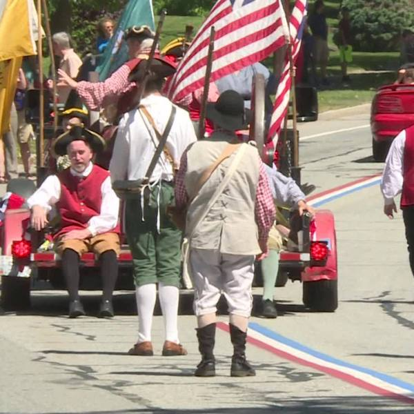 Video Now: Gaspee Days Parade
