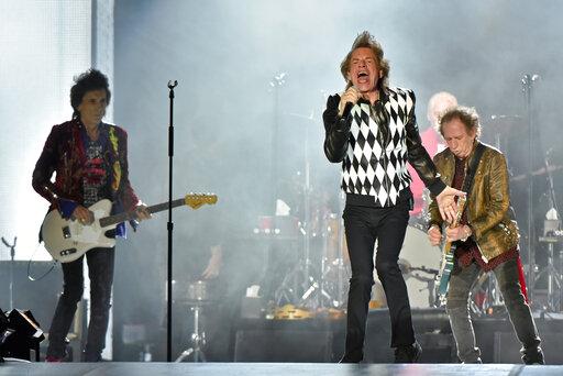 Mick Jagger, Keith Richards, Charlie Watts