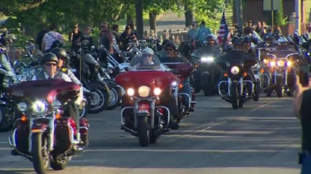 Thousands ride to honor 7 bikers killed in crash | WPRI com