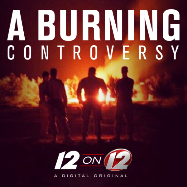 12 on 12 Burning Controversy