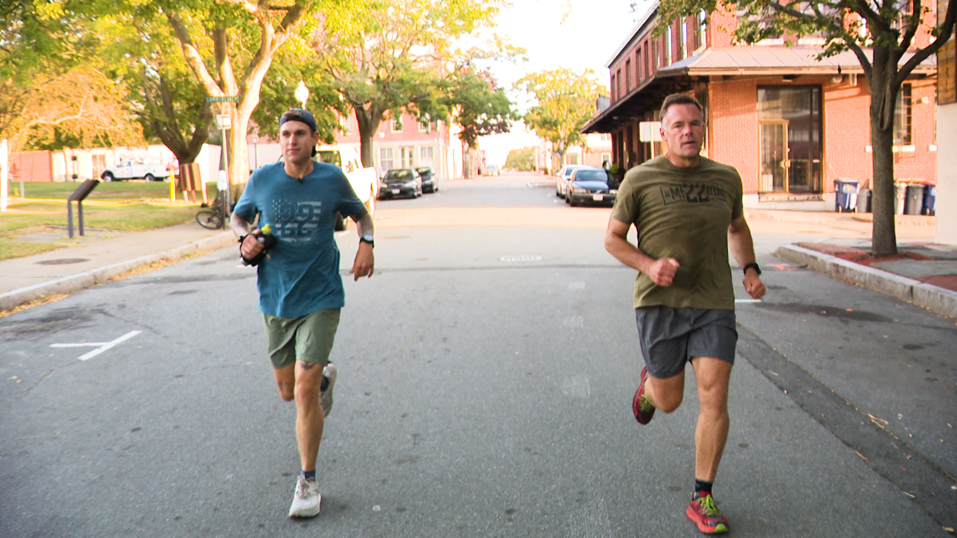 2 men running 500 miles for veteran suicide awareness | WPRI.com