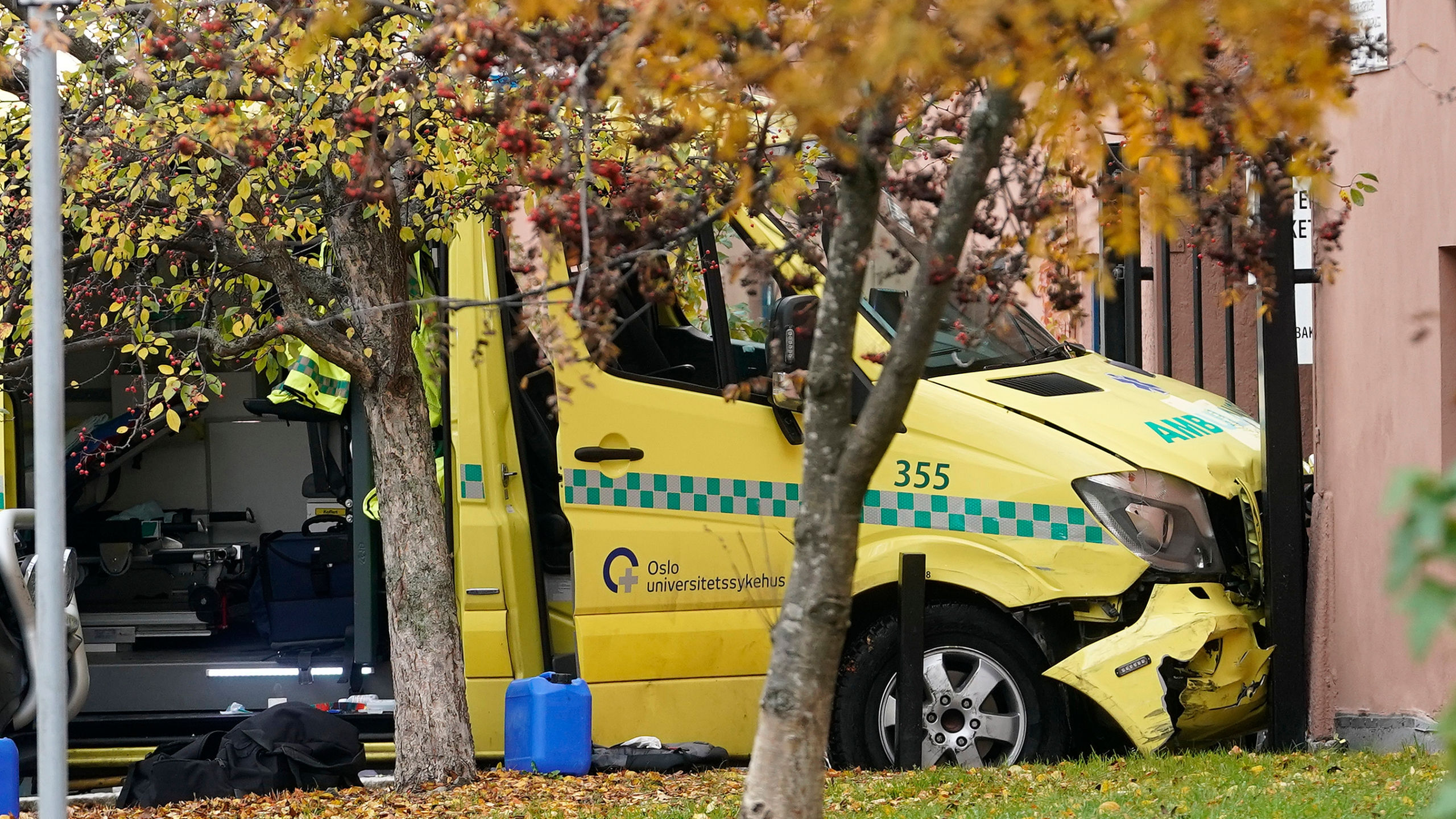 Ambulance stolen i Oslo center