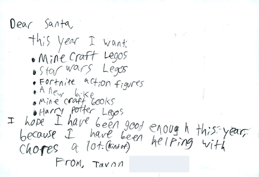 Usps Christmas Ot 2020 Dear Santa: Christmas wishes granted anonymously through USPS