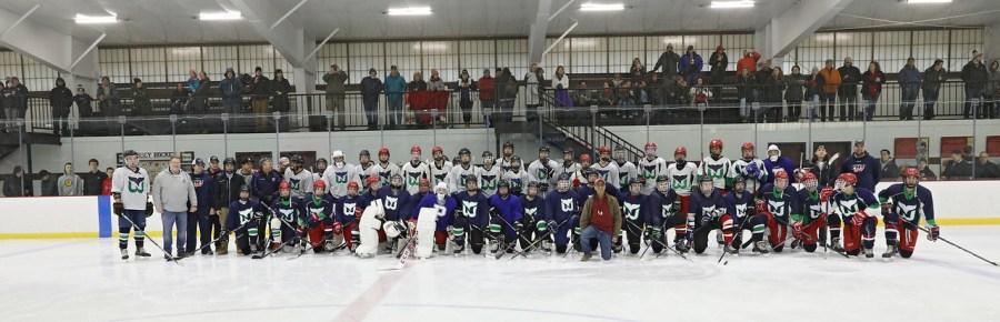 PHS vs. RMR Charity Hockey Game201